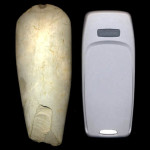 Stone Axe and Mobile Phone